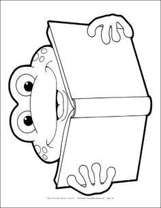 Frog Printable                                                                                                                                                                                 More