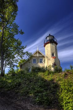 McGulpin #Lighthouse - Mackinaw City, #Michigan   http://www.roanokemyhomesweethome.com