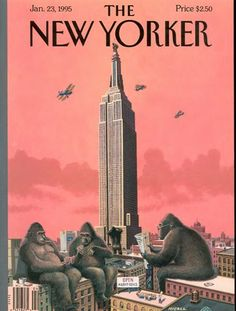The New Yorker cover, King Kong