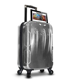 PLugg #Travel #Luggage that integrate a #battery #charger in the ...