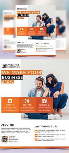 Business Flyer Business flyers, Business flyer templates and - web flyer
