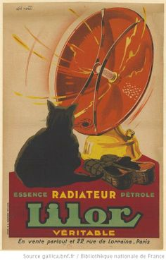 Radiateur Lilor - French advertising poster by Alphonse Noël (1930)