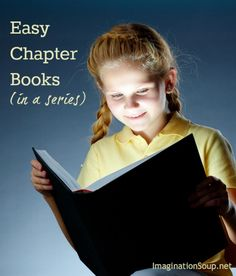 14 kid-approved easy chapter book series Imagination soup is a great site with lots of links for education based on age/grade/genre/etc Library Lessons, Library Books, Kid Books, Library Ideas, Kids Reading, Teaching Reading, Teaching Kindergarten, Teaching Ideas, Reading Strategies