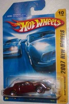 Hot Wheels 2007-010 New Models Buick Grand National Open Hole 5-Spoke Wheels BURGUNDY 1:64 Scale by Matell. $1.41. From the design tables of real car manufaturers to the imagination of Hot Wheels concept artists,. 2007 First Editions presents the latest innovations in both realistic and fantasy vehicles.. From Wikipedia: Hot Wheels is a brand of die cast toy car, introduced by American toymaker Mattel in 1968. It was the primary competitor of Matchbox until 1996, ...
