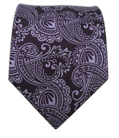 Twill Paisley - Eggplant | Ties, Bow Ties, and Pocket Squares | The Tie Bar