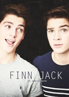 The Harries Twins--I have serious trouble telling them apart. At any rate, they're both hot! ❤️