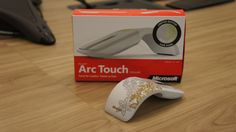 Limited Edition \Oh Joy\ Artist Edition Arc Touch Mouse! Geek Girls, Mice, Microsoft, Geek Stuff, Star Wars, Hardware, Joy, Hands, Touch
