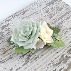 Loving this color combo designed for a lovely flower girl. That wedding will be full of succulents...and definitely that sweet girl will be turning some heads!! Succulents in autumn hues coming soon!!