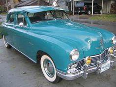 1948 Kaiser Frazer Manhatten - If I could afford an antique car, this would be it!