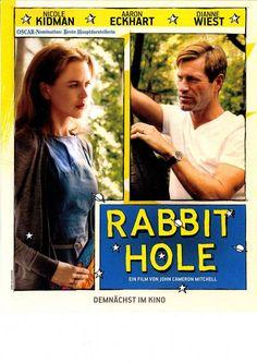 RABBIT HOLE - NICOLE KIDMAN - AARON ECKARDT - DIANNE WIEST - FILMPOSTER A4