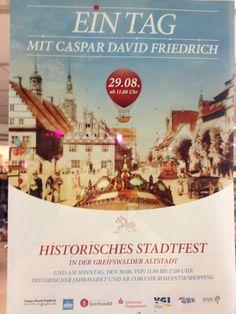 Caspar-David-Friedrich-Stradtfest in Greifswald
