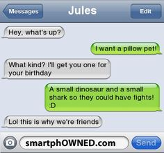 Xtreme Pillow - Other - Dec 28, 2011 - Autocorrect Fails and Funny Text Messages - SmartphOWNED
