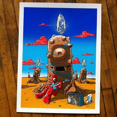 New Delivery: Tim Doyle x Yo Gabba Gabba screen print  Now available at Galerie F