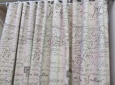 Etsy Shower Curtainperfect If We Go With The Travel Theme