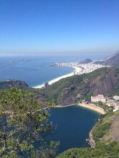Vista do Rio no Morro do Pão de Açúcar