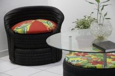 Comprando e Morando: Reciclar Pneu é o que há!