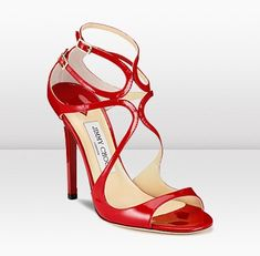 Red Shoes, Me Too Shoes, Fashion Shoes, Fashion Accessories, Pumps, Designer Sandals, Jimmy Choo Shoes, Clothes Horse, Strappy Sandals