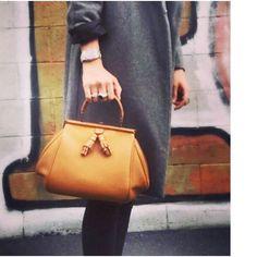 Somewhere in Milan  Madeleine bag -  #paolafornasari #paolafornasaribags #fashion#bag #handbag #style #newbrand #woman#leather #handmade #luxury #madeinitaly  #new#crocodile #accessories #iconic #milano#bags #fw16#marcona3 by paola.fornasari