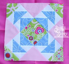 Quilt Story: Block of the Month: June