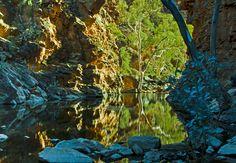 Explore Serpentine Gorge on the Larapinta Trail in the Northern Territory, Australia on Mallory on Travel adventure, adventure travel, photo...
