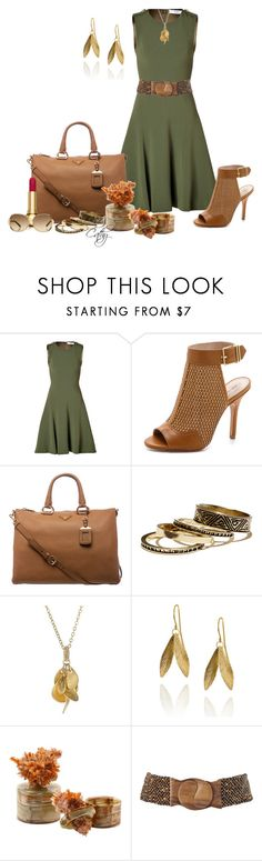 """A-line Sweetie!"" by mskittycat82 ❤ liked on Polyvore featuring Prabal Gurung, Pour La Victoire, Prada, Warehouse, Urban Posh, Clinique, Alchemy Collection, Joe Browns and Oscar de la Renta"