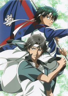 Tags: Tennis no Ouji-sama, Echizen Ryoma, Atobe Keigo, Official Art, Mobile Wallpaper Tennis Wallpaper, Prince Of Tennis Anime, Tennis Pictures, Viz Media, V Taehyung, Wallpaper Pictures, My Prince, Mobile Wallpaper, Anime Guys