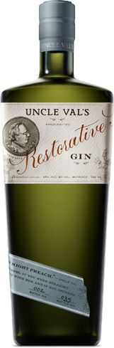 """Uncle Val's Restorative Gin has notes of cucumber and rose petal"""" title=""""Uncle Val's Restorative Gin has notes of cucumber and rose petal"""