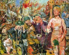 Oskar Kokoschka, Anschluß - Alice in Wonderland, 1942