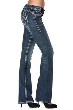 Rock Revival - Johanna White Stitch Boot Cut Jean, $148.00 (http://www.rockrevival.com/women/johanna-white-stitch-boot-cut-jean/rj8250b15-johanna-b15/)
