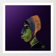 The KA Art Print by hayrettinkaraerkek - $54.08