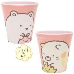 Sumikko Gurashi Plastic Cup $16.00 http://thingsfromjapan.net/sumikko-gurashi-plastic-cup/ #sumikko gurashi cup #san x products #kawaii Japanese cup #cute Japanese stuff