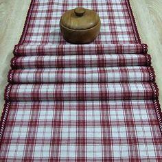 dekoračný obrus, stredový behúň, dlhý obrus bordó Picnic Blanket, Outdoor Blanket, Home Textile, Textiles, Fabrics, Picnic Quilt, Textile Art