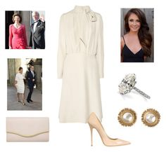 """Lunch with King&Queen&CP and the UK Ambassador"" by royal-fashion ❤ liked on Polyvore featuring Chloé, Jimmy Choo, Chanel and Dorothy Perkins"
