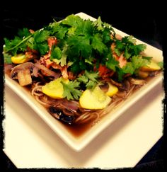 Fool-proof Salmon and Soba Noodle Soup