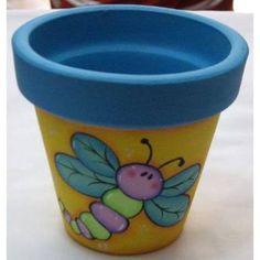 Flower Pot Art, Flower Pot Design, Clay Flower Pots, Flower Pot Crafts, Clay Pots, Clay Pot Projects, Clay Pot Crafts, Diy And Crafts, Painted Plant Pots