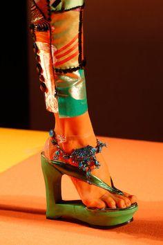 Jean Paul Gaultier Spring 2013 couture details