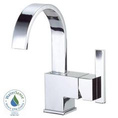 Danze Sirius 4 in. Single-Handle Bathroom Faucet in Chrome with Side Handle-D221544 at The Home Depot