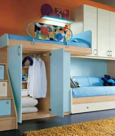 Love this! wish I had the ability to build something like this for my spare room