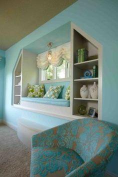 idea - window seat for basement window