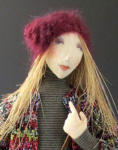 Throwback Thursday Original Art Doll by cmoyer on Etsy https://www.etsy.com/listing/206010083/throwback-thursday-original-art-doll