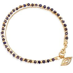 Astley Clarke incorporates its most iconic talismans into their fine biography collection, including this Sapphire evil eye bracelet. Mangalsutra Bracelet, Evil Eye Hand, Eye Jewelry, Gold Jewelry, Jewelry Bracelets, Jewellery, Astley Clarke, Sapphire Jewelry, Diamond Jewelry