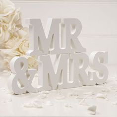 Mr & Mrs Wooden Sign Mr and Mrs by savingfacejewellery on Etsy