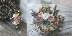 Clay Wedding Bouquet Vlasova Yana