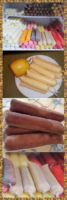 How to make homemade FRUITS with fruit and water to sell, If you like, tell us HELLO and give it a LIKE LOOK… - hielitos - Helados Ice Cream Desserts, Frozen Desserts, Ice Cream Recipes, Frozen Treats, Mexican Food Recipes, Sweet Recipes, Dessert Recipes, Yogurt Ice Cream, Crazy Cakes