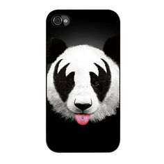 Kiss Of A Panda Six iPhone 4/4s Case