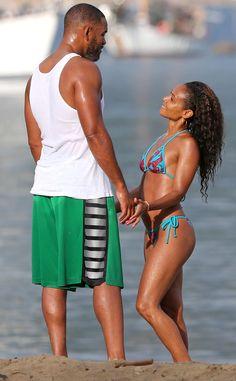 Jada Pinkett Smith's 42, Bikini Body and Will Smith 45.  Keep it hot | E! Online Mobile