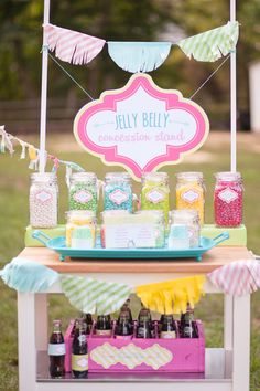 The Perfect Jelly Belly Concession Stand (with FREE Printable Flavor Voting Cards!)