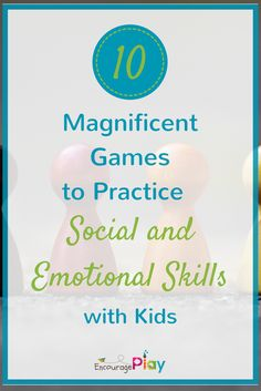 Inside: An overview of 10 games that can be used to work on social-emotional learning at school, in small group settings or at home. What was your favorite game to play as a kid? For me, it was Monopoly. My sister and I played this game all the time - it would keep us entertained for hours