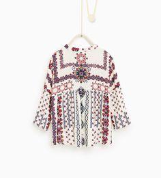 ZARA - KIDS - Pattern print shirt