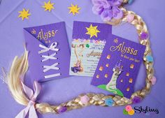 """""""It's going to be the best day ever!"""" said Rapunzel plus my now six year old princess. She wanted everything Tangled inspired this year, so for her birthday party I tried to include elements from t..."""